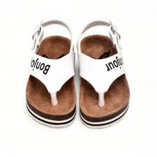 BOXBO Charly Sandal White