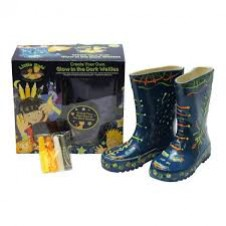 Little Pals- Glow Wellies - Blue (Small)