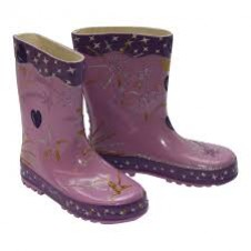 Little Pals- Glitzy Wellies - Lilac (Large)
