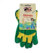 Little Pals- Garden Rigger Gloves - Green/Yellow