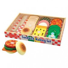 Melissa & Doug- Sandwich Making Set