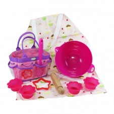 Little Pals- Junior Baking Set Star Baker - Pink