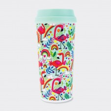 Rachel Ellen Thermal Mug - Flamingo