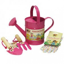 Little Pals- Garden Watering Can Kit - Pink