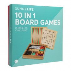 10-in-1 Board Games - Catalina