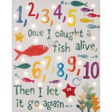 Fish Alive Led Canvas