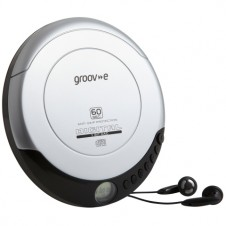 Retro Series Personal CD Player – Silver