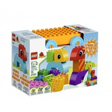 Toddler Build and Pull Along Building Set