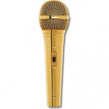 Lucky Voice - Gold Microphone