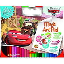Magic Sticky Disney Cars Art Pad