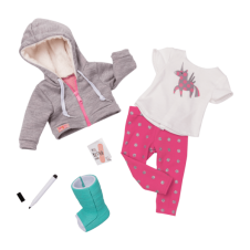 Get Well Soon - Our Generation Dolls Deluxe Outfit