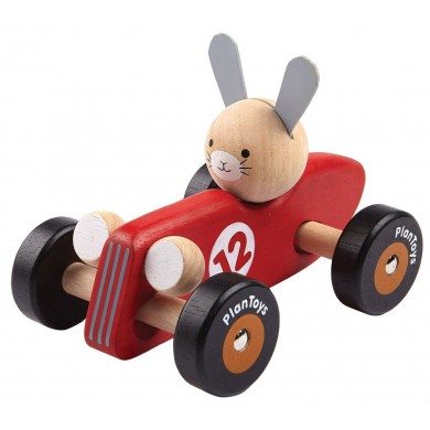 Plan Toys Rabbit Racing Car
