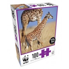 WWF 100 Piece Animal Puzzles - Baby Giraffe