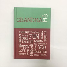 Grandma and Me Journal