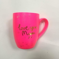 LOVE YOU MUM Mug - Pink